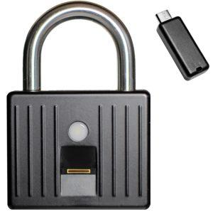 Biometric pad lock