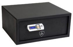 Pistol Safe with FBI Scanner